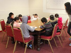 School Pupils in Class Hua Xian Chinese Society Lancaster Chinese School