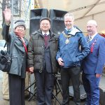 Sam Moi Chan and Guests of Honour at Lancaster Chinese New Year Carnival 2016 | Hua Xian Chinese Society