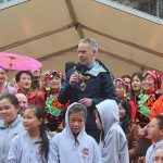 Councillor Jon Barry, Mayor of Lancaster at Lancaster Chinese New Year Carnival 2016 | Hua Xian Chinese Society