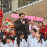 Vice Consul General of the People's Republic of China at Lancaster Chinese New Year Carnival 2016 | Hua Xian Chinese Society