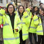 Student volunteer teams at Lancaster Chinese New Year Carnival 2016   Hua Xian Chinese Society