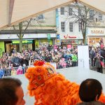 The crowds during Lancaster Chinese New Year Carnival 2016 | Hua Xian Chinese Society