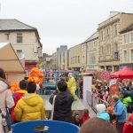 Crowds during Lancaster Chinese New Year Carnival 2016 | Hua Xian Chinese Society