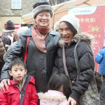 Sam Moi Chan with family at Lancaster Chinese New Year Carnival 2016 | Hua Xian Chinese Society