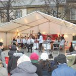 Pagoda Arts Youth Chinese orchestra on the Lycamobile Stage at Lancaster Chinese New Year Carnival 2016 | Hua Xian Chinese Society