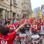 Batala on Church Street during Lancaster Chinese New Year Carnival 2016 | Hua Xian Chinese Society